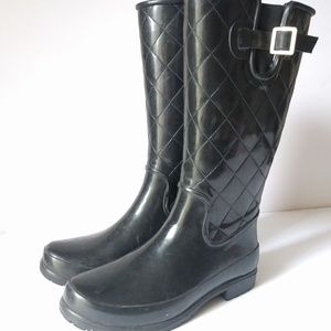 Sperry Top Sider 8 Pelican II Quilted Rubber Boots